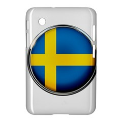 Sweden Flag Country Countries Samsung Galaxy Tab 2 (7 ) P3100 Hardshell Case