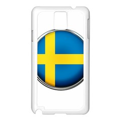 Sweden Flag Country Countries Samsung Galaxy Note 3 N9005 Case (white)
