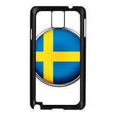 Sweden Flag Country Countries Samsung Galaxy Note 3 N9005 Case (black)