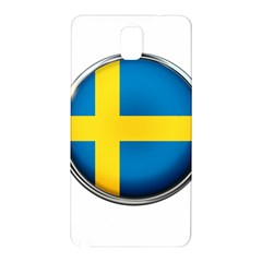 Sweden Flag Country Countries Samsung Galaxy Note 3 N9005 Hardshell Back Case