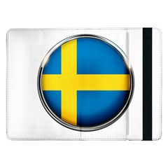Sweden Flag Country Countries Samsung Galaxy Tab Pro 12 2  Flip Case