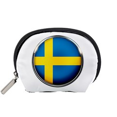Sweden Flag Country Countries Accessory Pouches (small)