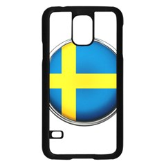 Sweden Flag Country Countries Samsung Galaxy S5 Case (black)