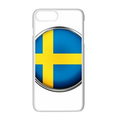 Sweden Flag Country Countries Apple Iphone 7 Plus Seamless Case (white)