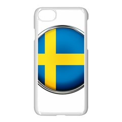 Sweden Flag Country Countries Apple Iphone 7 Seamless Case (white)