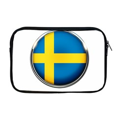 Sweden Flag Country Countries Apple Macbook Pro 17  Zipper Case