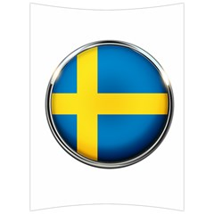 Sweden Flag Country Countries Back Support Cushion by Nexatart