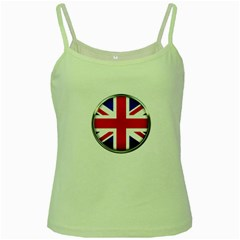 United Kingdom Country Nation Flag Green Spaghetti Tank