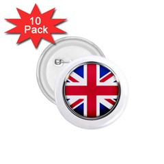 United Kingdom Country Nation Flag 1 75  Buttons (10 Pack) by Nexatart