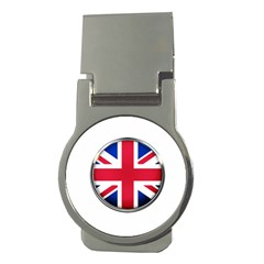 United Kingdom Country Nation Flag Money Clips (round)