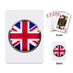 United Kingdom Country Nation Flag Playing Card