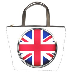 United Kingdom Country Nation Flag Bucket Bags