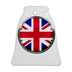 United Kingdom Country Nation Flag Bell Ornament (two Sides)