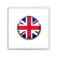 United Kingdom Country Nation Flag Memory Card Reader (square)