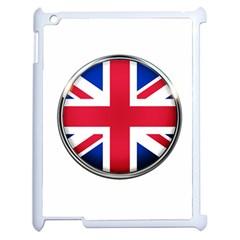 United Kingdom Country Nation Flag Apple Ipad 2 Case (white)