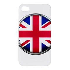 United Kingdom Country Nation Flag Apple Iphone 4/4s Premium Hardshell Case