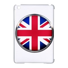 United Kingdom Country Nation Flag Apple Ipad Mini Hardshell Case (compatible With Smart Cover) by Nexatart
