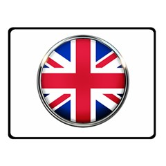 United Kingdom Country Nation Flag Double Sided Fleece Blanket (small)