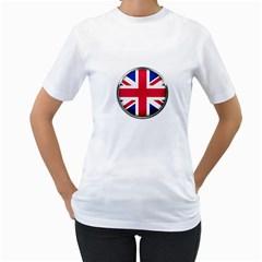 United Kingdom Country Nation Flag Women s T Shirt (white)