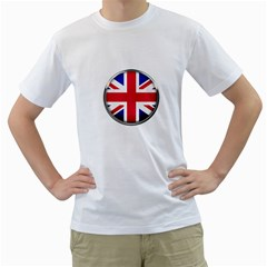United Kingdom Country Nation Flag Men s T Shirt (white)