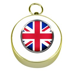 United Kingdom Country Nation Flag Gold Compasses