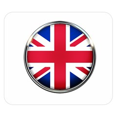 United Kingdom Country Nation Flag Double Sided Flano Blanket (small)