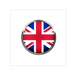 United Kingdom Country Nation Flag Small Satin Scarf (square)