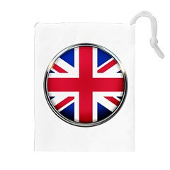 United Kingdom Country Nation Flag Drawstring Pouches (extra Large)