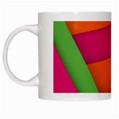 Background Abstract White Mugs