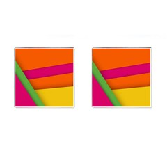 Background Abstract Cufflinks (square)