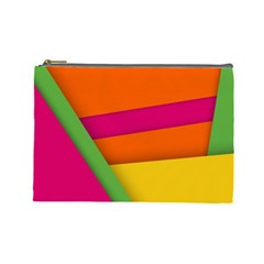Background Abstract Cosmetic Bag (large)