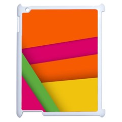 Background Abstract Apple Ipad 2 Case (white)