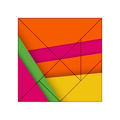 Background Abstract Acrylic Tangram Puzzle (4  X 4 )