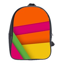 Background Abstract School Bag (xl)