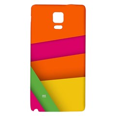 Background Abstract Galaxy Note 4 Back Case