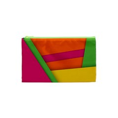 Background Abstract Cosmetic Bag (xs)