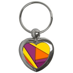 Background Abstract Key Chains (heart)