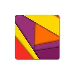 Background Abstract Square Magnet