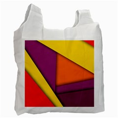 Background Abstract Recycle Bag (one Side)