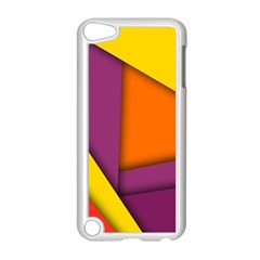 Background Abstract Apple Ipod Touch 5 Case (white)