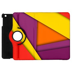 Background Abstract Apple Ipad Mini Flip 360 Case