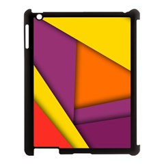 Background Abstract Apple Ipad 3/4 Case (black)