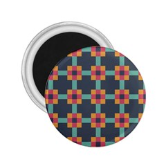 Squares Geometric Abstract Background 2 25  Magnets
