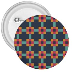 Squares Geometric Abstract Background 3  Buttons