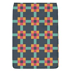 Squares Geometric Abstract Background Flap Covers (s)