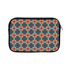 Squares Geometric Abstract Background Apple Ipad Mini Zipper Cases