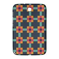Squares Geometric Abstract Background Samsung Galaxy Note 8 0 N5100 Hardshell Case  by Nexatart