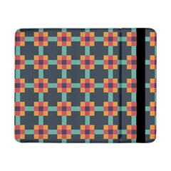 Squares Geometric Abstract Background Samsung Galaxy Tab Pro 8 4  Flip Case