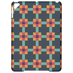 Squares Geometric Abstract Background Apple Ipad Pro 9 7   Hardshell Case