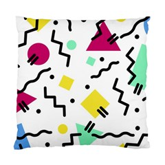 Art Background Abstract Unique Standard Cushion Case (one Side)